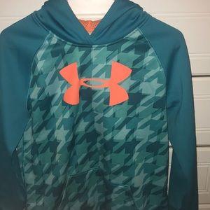 Girls youth XL sweatshirt under armor